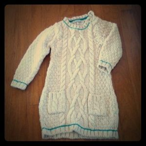 Other - Cream cable knit tunic